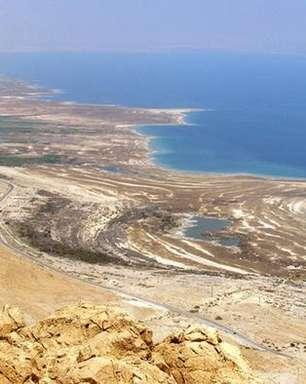 A luta de ambientalistas para salvar o Mar Morto