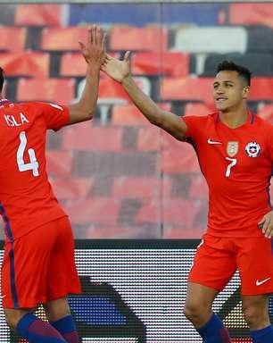Chile domina Venezuela e toma lugar da Argentina na tabela