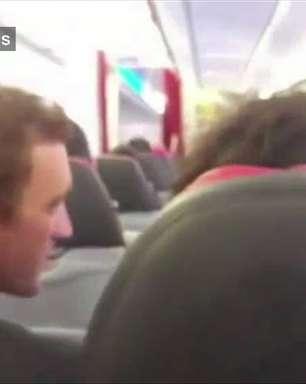 Problema mecânico faz avião 'sacudir como lavadora': assista