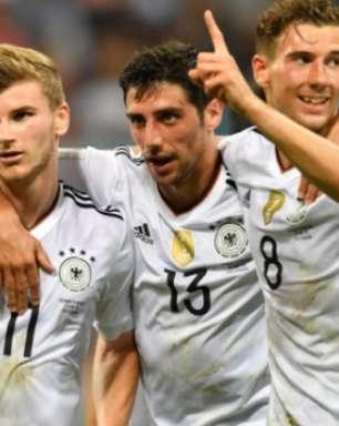 Alemanha tenta repetir Brasil e França na Copa das Confederações