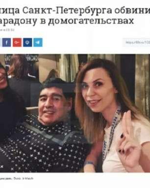 Maradona é acusado de assédio sexual em hotel na Rússia