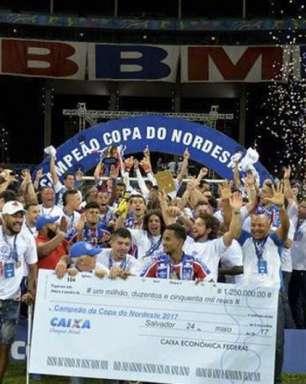 Copa do Nordeste de 2018 distribuirá R$ 22,5 mi aos clubes