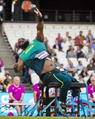 Arremesso de peso dá primeiro ouro ao Brasil no mundial paralímpico em Londres