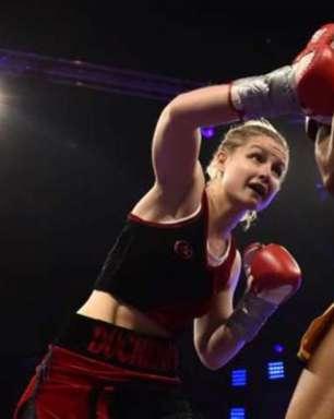 Campeã de boxe morre aos 26 anos após infarto em treino