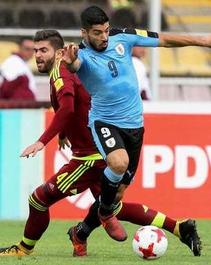 Uruguai só empata e fica na torcida para ter vaga antecipada