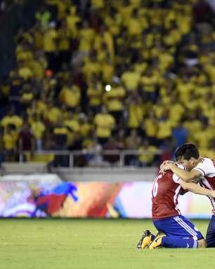 Paraguai consegue virada heroica contra a Colômbia e sonha