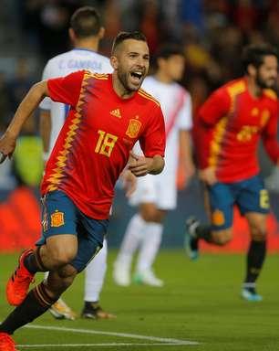 Antes da Rússia, Espanha goleia Costa Rica em amistoso