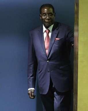 Mugabe renuncia à presidência do Zimbábue após 37 anos