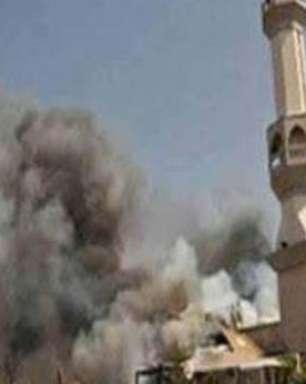 Militantes que atacaram mesquita portavam bandeira do EI
