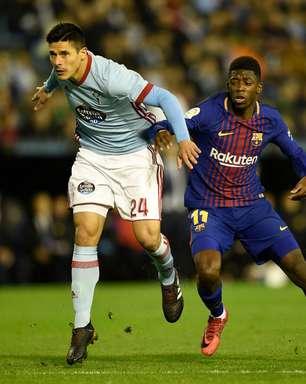 Dembélé volta a jogar após quase 4 meses e Barça só empata