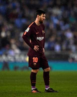 Messi perde pênalti, e Espanyol abre vantagem contra Barça