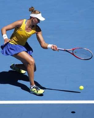 Bia Haddad é eliminada por ex-número 1 na Austrália