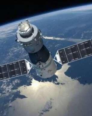 Estação chinesa deve colidir com a Terra na Páscoa