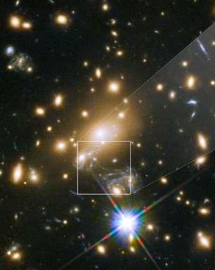 Como é Ícaro, a estrela mais distante já fotografada