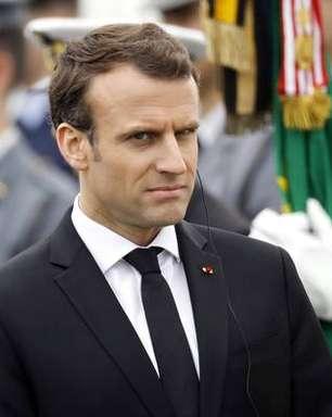 Macron diz ter provas do uso de armas químicas pela Síria