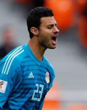 O cara do jogo: Mohamed El-Shenawy, goleiro do Egito