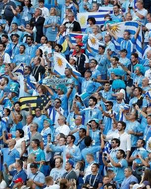 Copa: veja fotos de Uruguai x Arábia Saudita pelo Grupo A