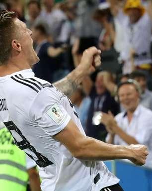 Show belga, vitória mexicana e Kroos herói: os gols do dia