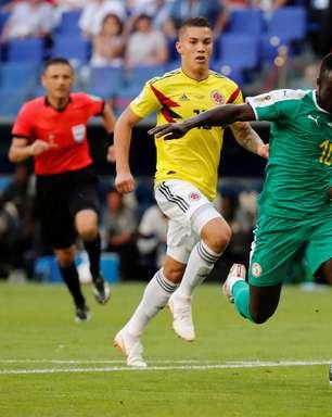Veja fotos do jogo entre Senegal e Colômbia