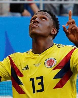 Colômbia vence Senegal com gol de Mina e se classifica
