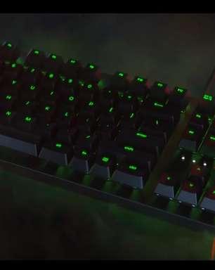 Razer anuncia sua primeira linha de teclados óptico-mecânicos