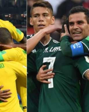 7 motivos para acreditar na vitória da Brasil contra México