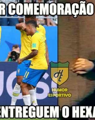 Chaves, Quico e Nazaré Tedesco: memes da vitória do Brasil