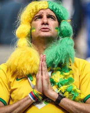 Veja fotos da torcida do Brasil contra o México