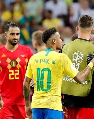 """""""Brasileiros já pensavam que ganhariam a Copa"""", diz Courtois"""