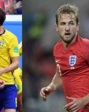 Kane x muralha sueca: o duelo de estilos pela semifinal