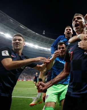Na prorrogação, Croácia vence Inglaterra e chega à decisão