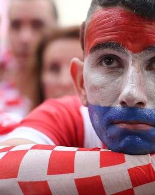 Tristeza e orgulho: a reação da Croácia à derrota na final