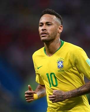 Brasil encara EUA com Neymar de capitão e dez remanescentes