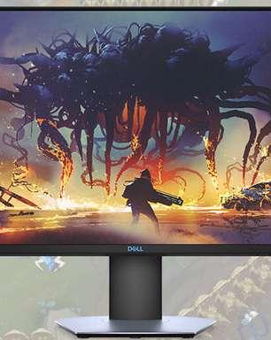 Dell lança novos modelos de monitores focado em gamers