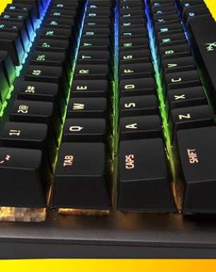 Teclado da HyperX demanda 40g de força ao acionar comandos