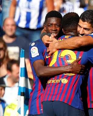 Barcelona bate Real Sociedad e segue 100% no Espanhol