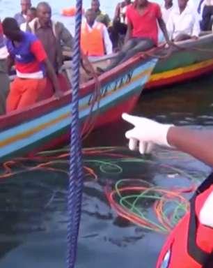 Número de mortes por naufrágio na Tanzânia sobe para 136