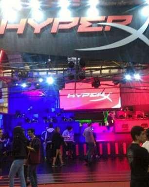 HyperX apresenta com 48 estações de jogos na BGS