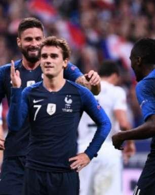 Griezmann brilha e França tira a Alemanha da Liga das Nações