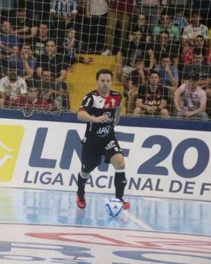 Futsal: Cascavel e Joinville empatam no primeiro jogo das oitavas de final