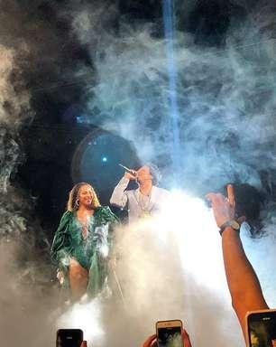 Beyoncé, Ed Sheeran e outros homenageiam Mandela em concerto