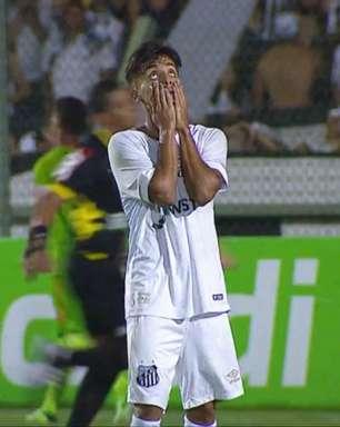 Santos empata e é eliminado da Copinha na fase de grupos