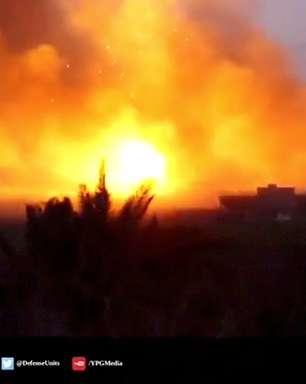 Centenas de combatentes do EI desistem no leste da Síria