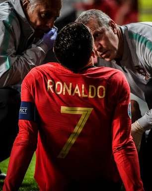 Examinado, Cristiano Ronaldo ainda não sabe se jogará quartas da Champions