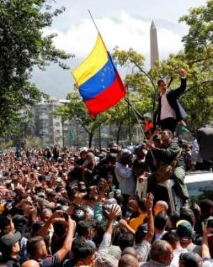 """Guaidó convoca novos protestos: """"Seguimos com mais força"""""""
