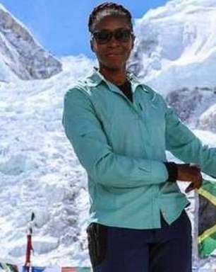 """Nunca desista"", diz primeira negra africana a escalar Everest"