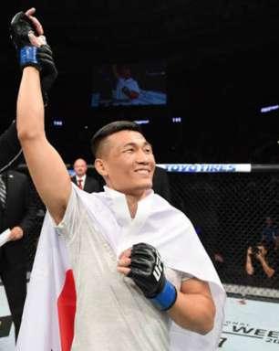 Brasileiro é nocauteado em 58s por 'Zumbi Coreano' no UFC
