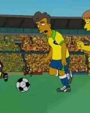 Os Simpsons previram final Brasil x Peru no Maracanã?