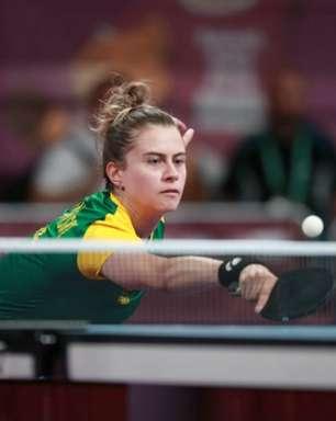 Tênis de mesa: Bruna Takahashi perde na semifinal e é bronze