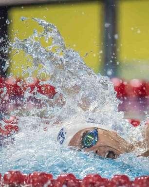 Brasil faz dobradinha nos 200m livre da natação no Pan